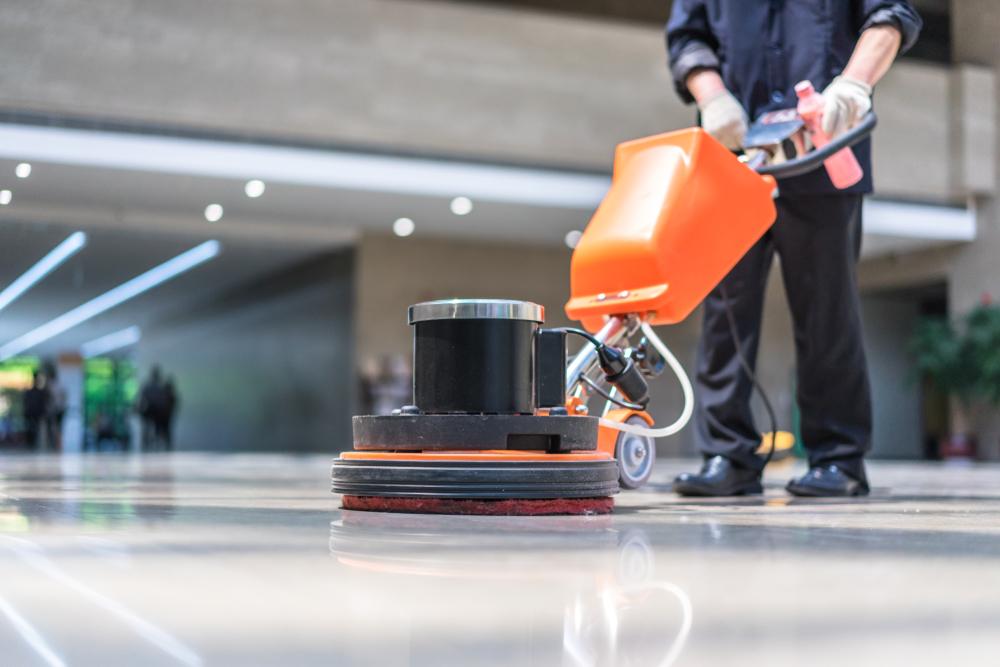 Les machines les plus adaptées au nettoyage des sols de grande superficie